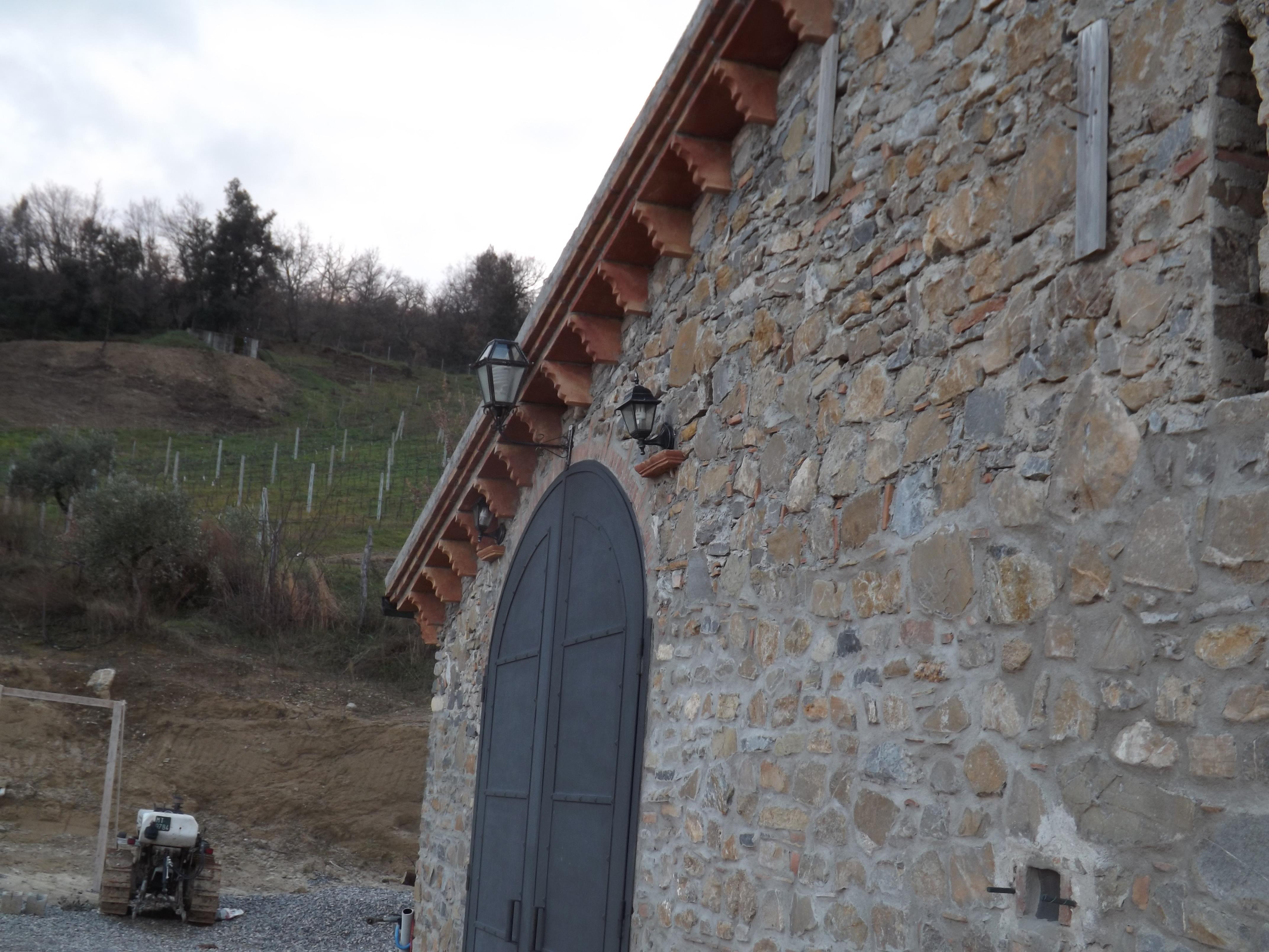 Capitelli coprimuro fornace parrilla - Agriturismo il giardino dei ciliegi ...